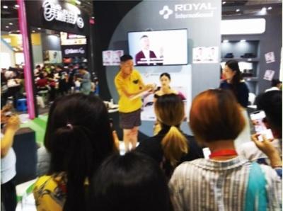 플라센타(태반) 전문기업인 로얄인터내셔널은 엑스포 기간 동안 일본 최고의 메이크업 아티스트 'PIKACO 뷰티쇼'를 진행한다고 밝혔다.